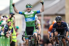 REPRO FREE***PRESS RELEASE NO REPRODUCTION FEE*** 2017 An Post Ras Stage 3, Newport to Bundoran 23/5/2017 Matthew Teggart of An Post CRC celebrates winning the 3rd stage Mandatory Credit ©INPHO/Ryan Byrne
