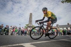 REPRO FREE***PRESS RELEASE NO REPRODUCTION FEE*** 2017 An Post Ras Stage 8, Ardee to Skerries 28/5/2017 Yellow Jersey holder and An Post Ras winner James Gullen of JLT Condor in Skerries Mandatory Credit ©INPHO/Morgan Treacy