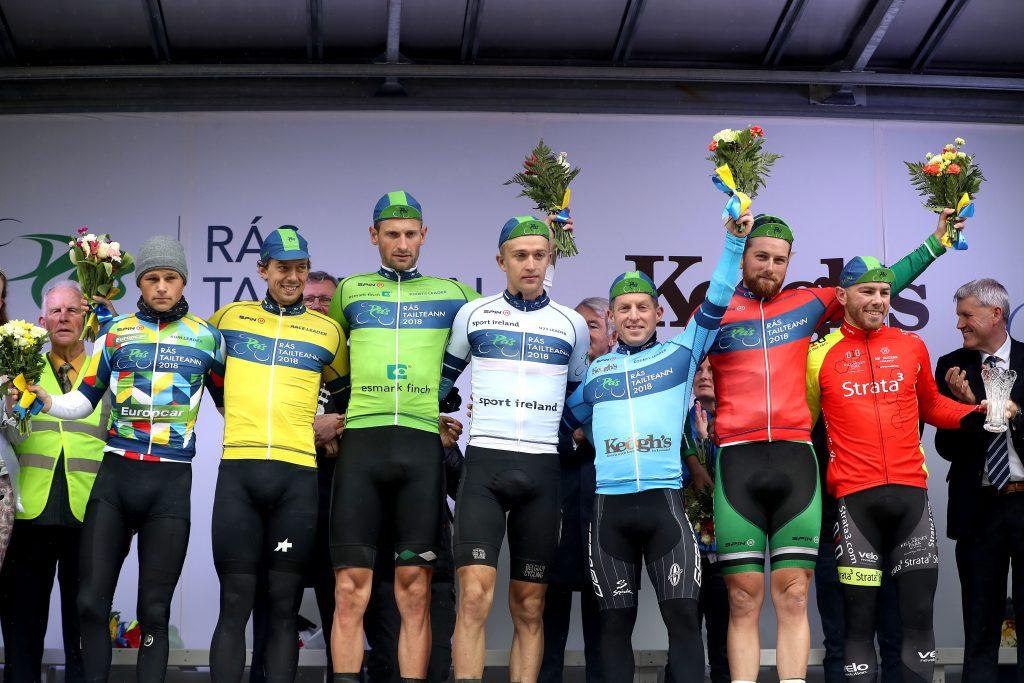 Lukas Ruegg, Cyrille Thiery, Luuc Bugter, Robbe Ghys, Paidi O'Brien, Robert Jon McCarthy and Simon Ryan 21/5/2018